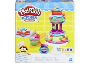 juego infantil play doh frost cakes playset