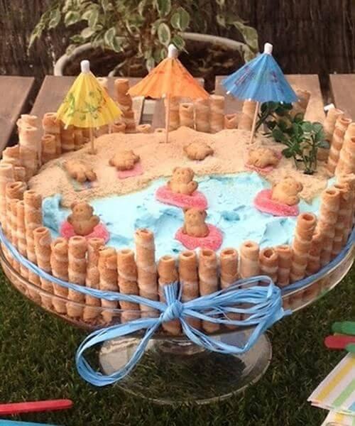 pastel de cumpleaños para niños