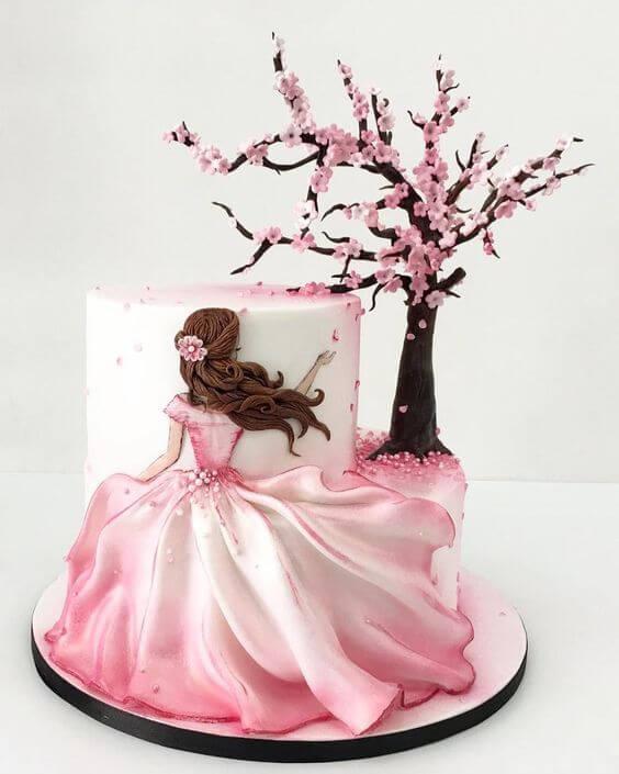 pastel de cumpleaños decorado