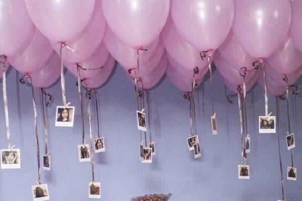 sorpresa globos con fotos
